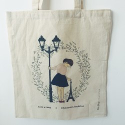 Tote Bag AndaLuz X Alice à Paris