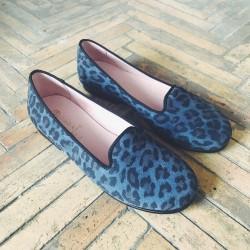 (Dé)Pomponnée - Leopardo Azul